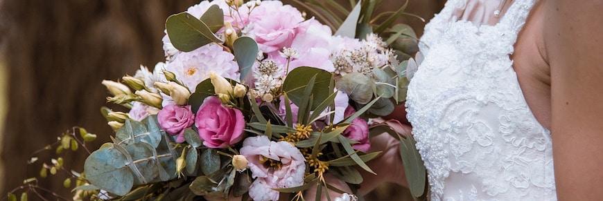 Allestimento e fiori per un matrimonio vintage