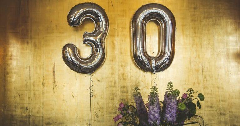 Idee originali per festeggiare i 30 anni