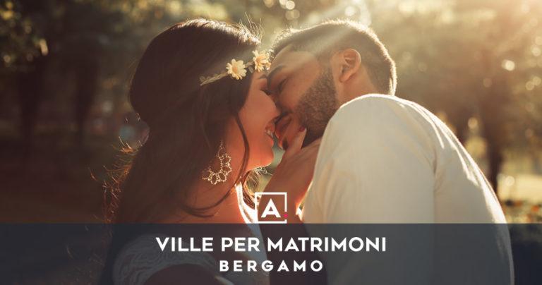 Ville e castelli per matrimoni a Bergamo