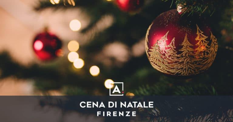 Cena aziendale di Natale a Firenze