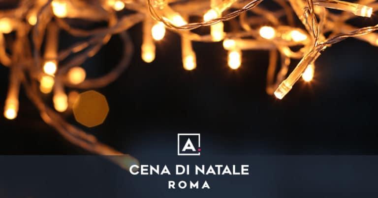 Cena di Natale aziendale a Roma