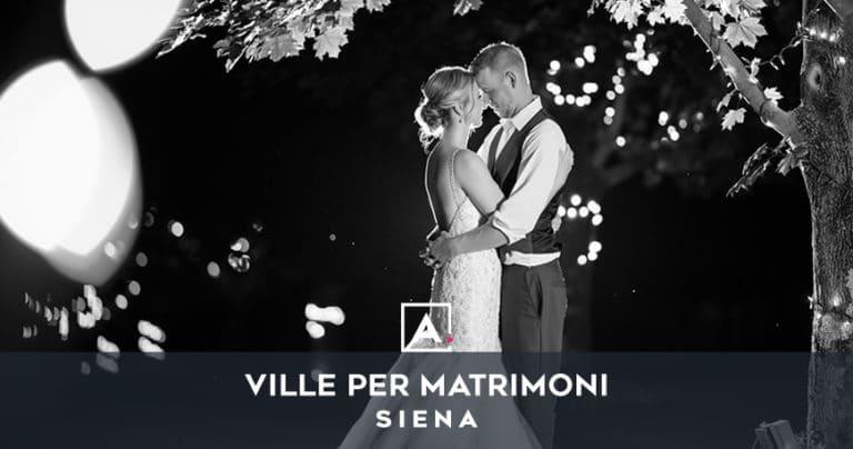 Ville e castelli per matrimoni a Siena