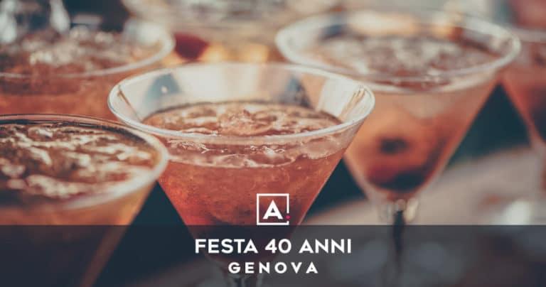 Dove festeggiare i 40 anni a Genova
