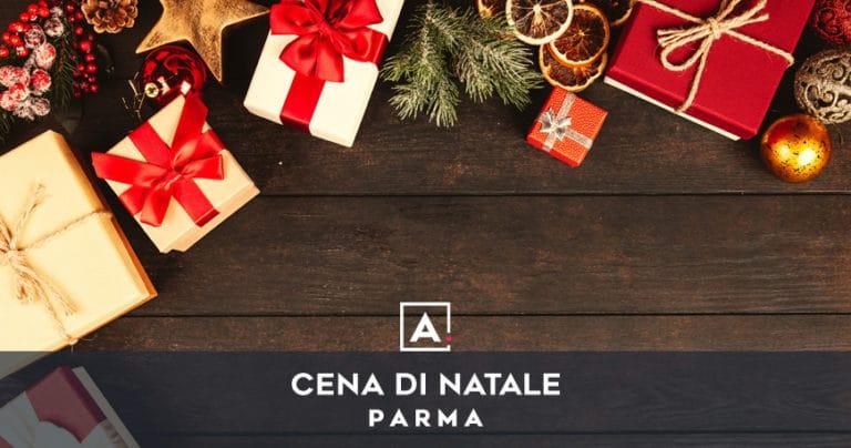 Cena aziendale di Natale a Parma