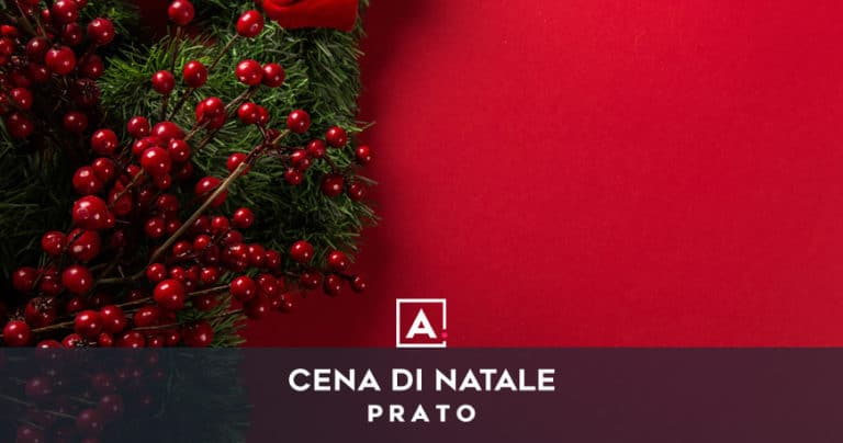 Cena aziendale di Natale a Prato