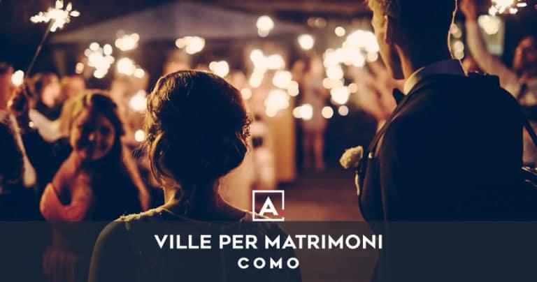 Ville e castelli per matrimoni a Como