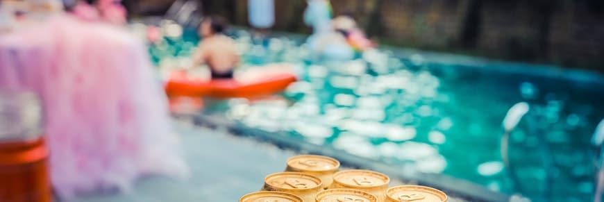 addio al nubilato in piscina