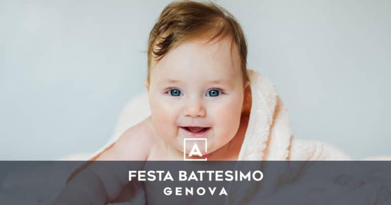 Battesimo a Genova: location dove fare un rinfresco