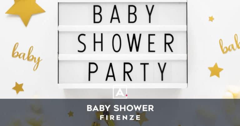 Baby shower a Firenze: location dove fare il party