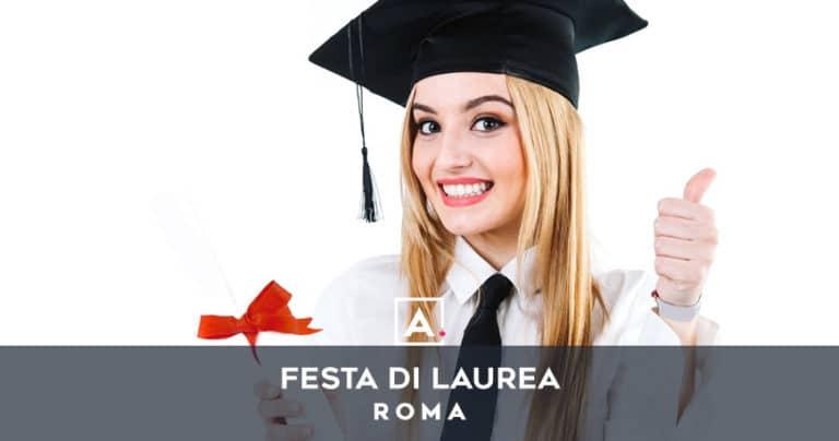 Festa di laurea a Roma: location dove festeggiare