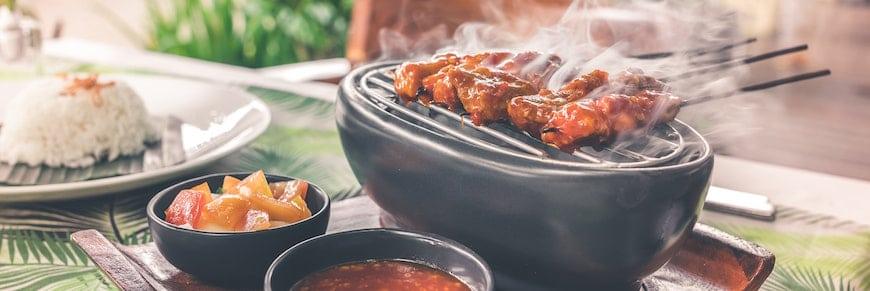 barbecue hawaiano