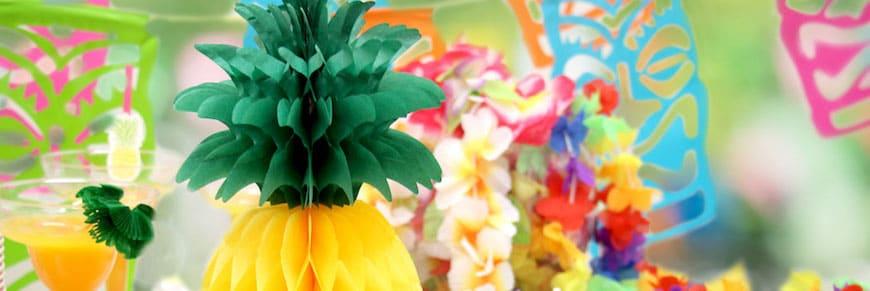 decorazioni per una festa hawaiana