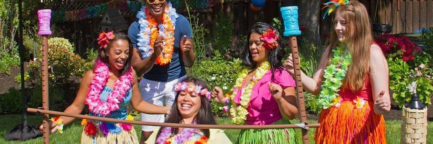 festa hawaiana fai da te