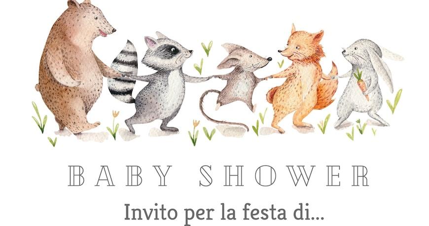 crea i biglietti di invito al baby shower