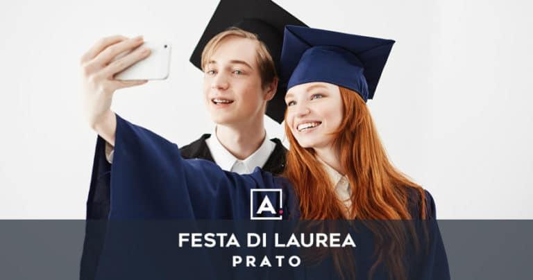 Festa di laurea a Prato