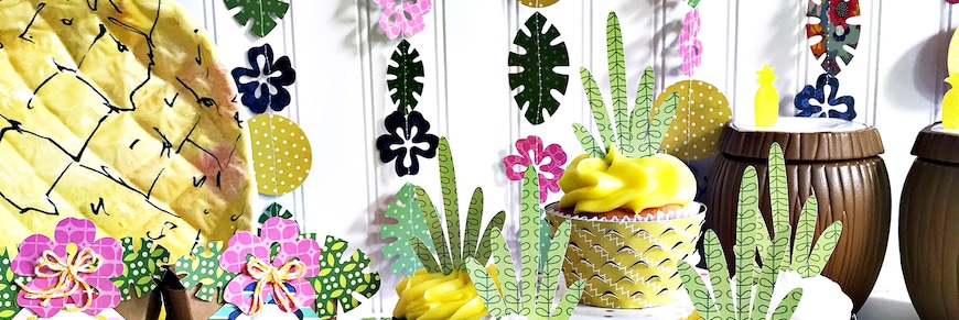 festa hawaiana addobbi e accessori