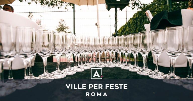 Ville in affitto per feste private a Roma