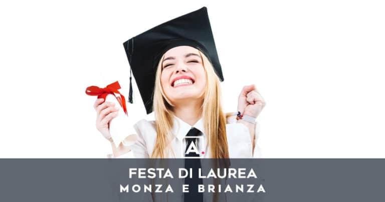 Festa di laurea a Monza: locali per aperitivi e rinfreschi