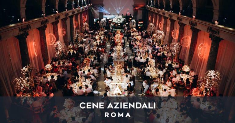 Location e ristoranti per cene aziendali a Roma