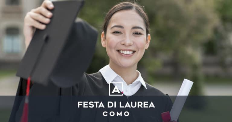 Festa di laurea a Como: location dove festeggiare