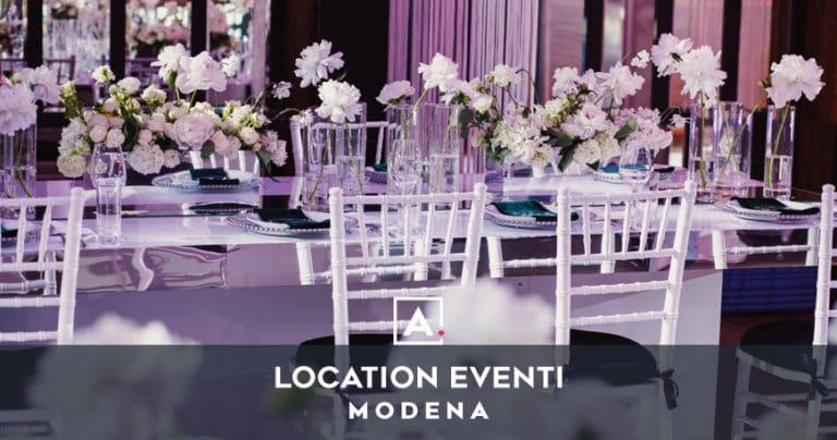 Location per eventi a Modena: il tuo spazio per ogni evento