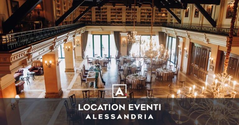 Location per eventi Alessandria: le migliori sale da affittare