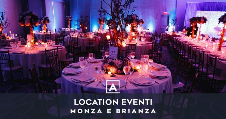 Spazio per eventi a Monza: location per ogni evento