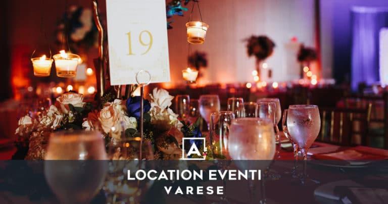 Location per eventi e feste private a Varese