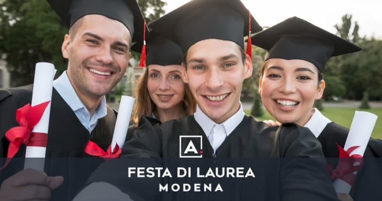 Festa di laurea a Modena: location dove festeggiare