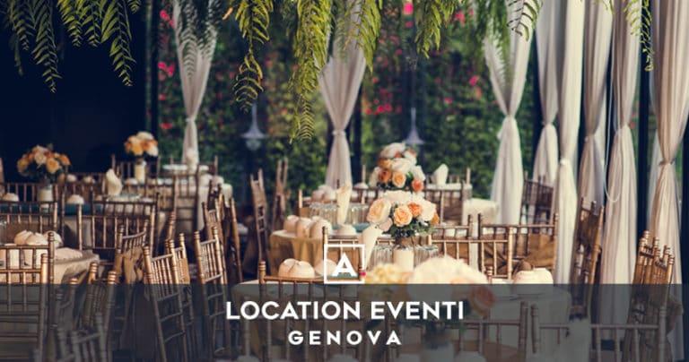 Location per eventi a Genova: i migliori spazi in affitto