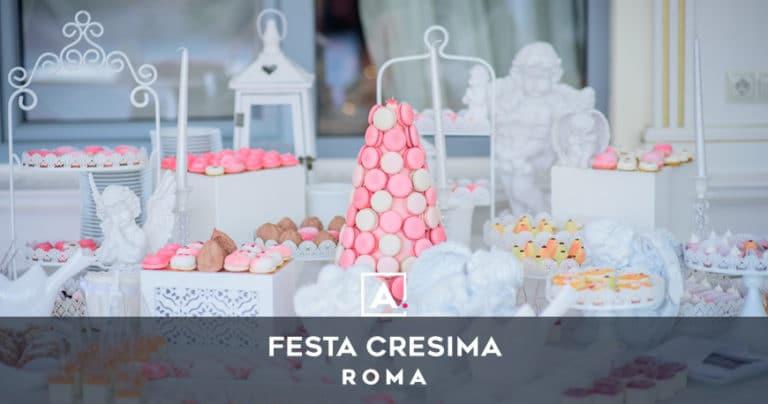 Cresima a Roma: location e ristoranti dove festeggiare