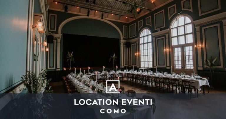 Location per eventi a Como: il tuo spazio per ogni evento