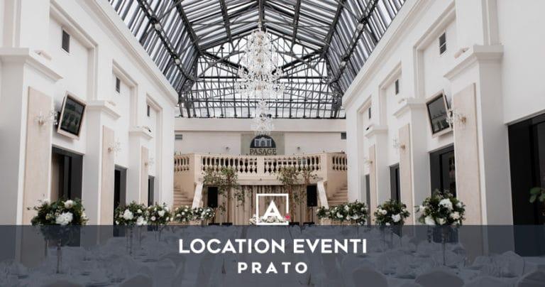 Location per eventi e feste private a Prato