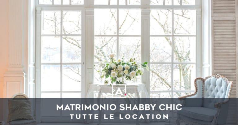 Location per un matrimonio shabby chic