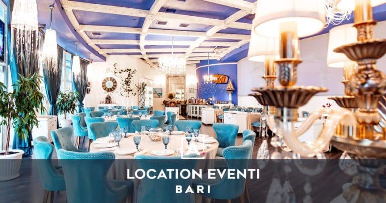 Location per eventi e feste private a Bari