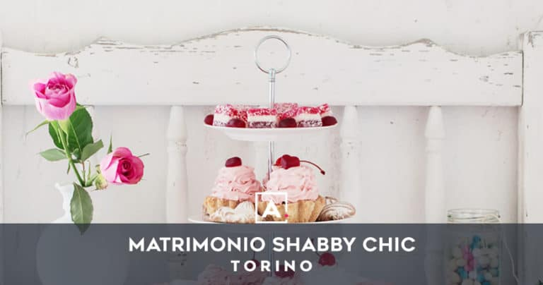 Location per un matrimonio shabby chic a Torino