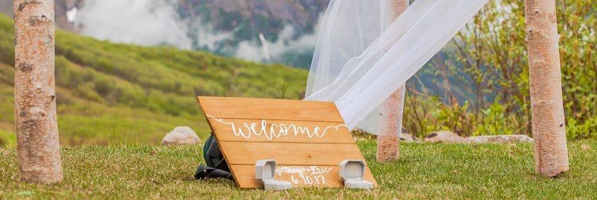 tableau mariage shabby chic