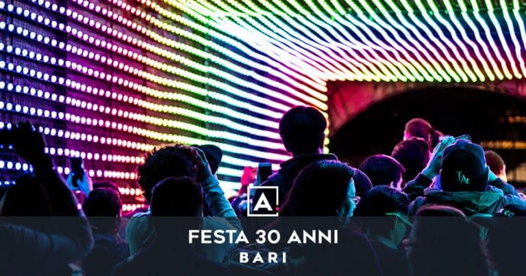 Dove festeggiare i 30 anni a Bari