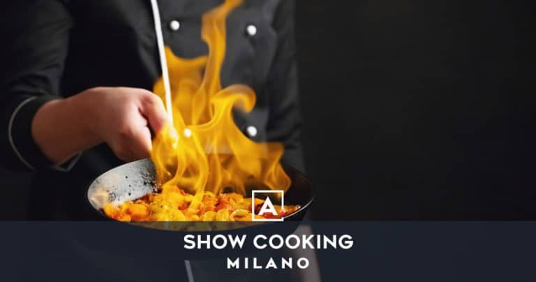 Location per show cooking a Milano
