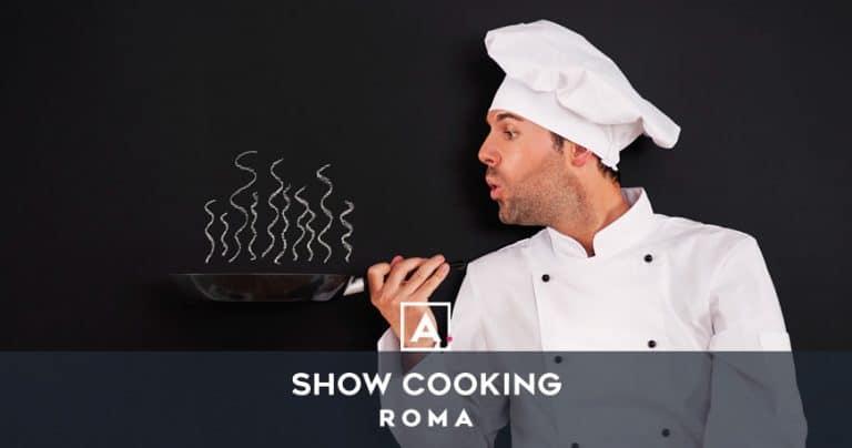 Cooking team building a Roma: location per corsi di cucina!