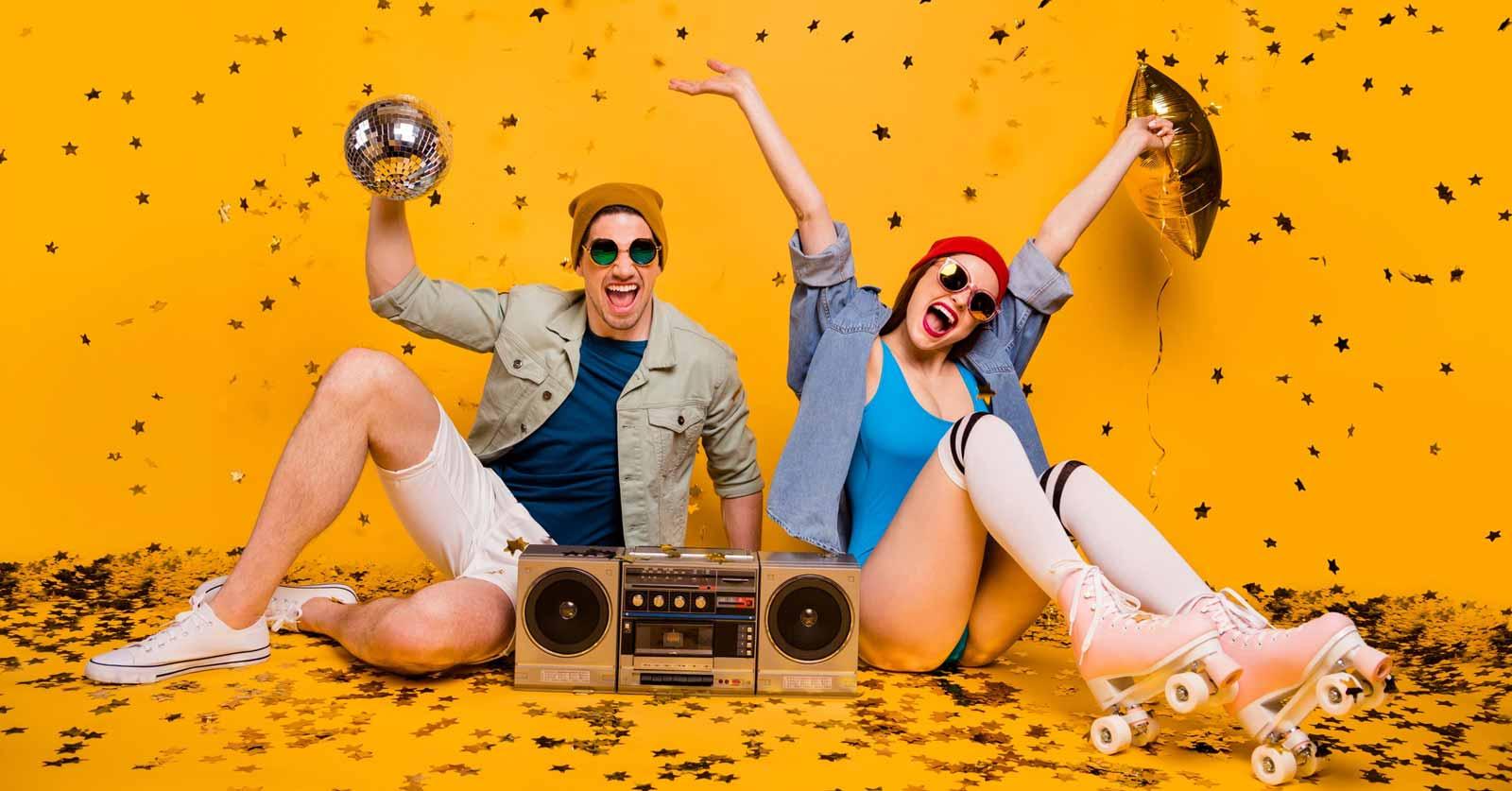 Festa anni 80: come organizzarla e come vestirsi