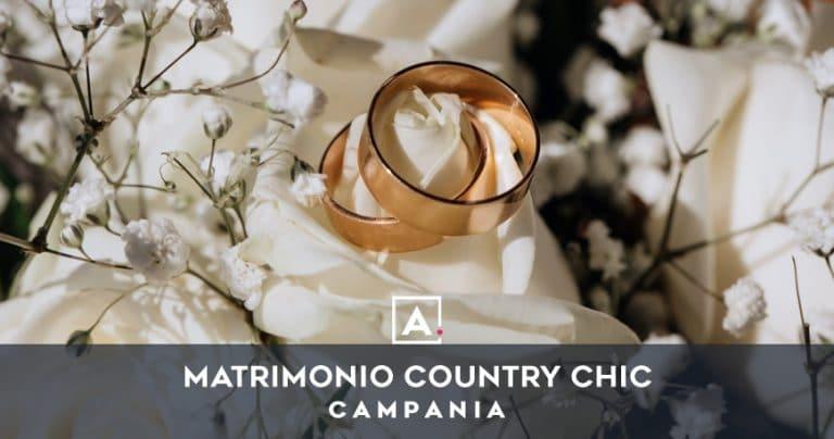 Location per matrimoni country chic in Campania
